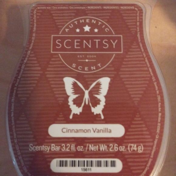 Scentsy Other - 🐞 5 for $25 🐞 Scentsy Wax Bar Cinnamon Vanilla